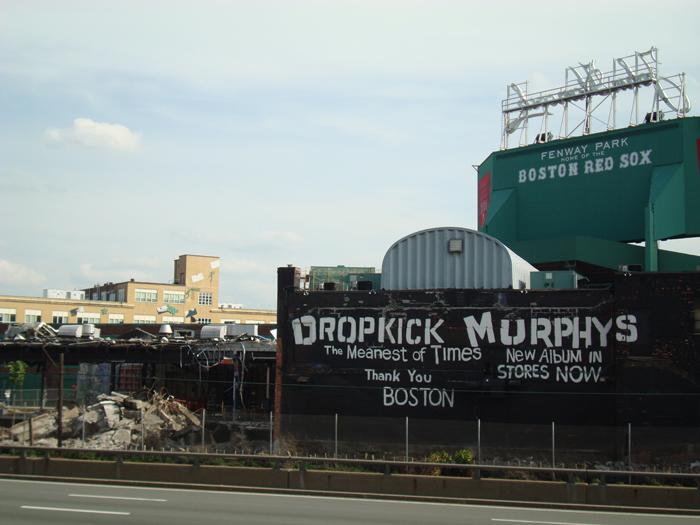 Dropkick murphys x brian butler for Dropkick murphys mural
