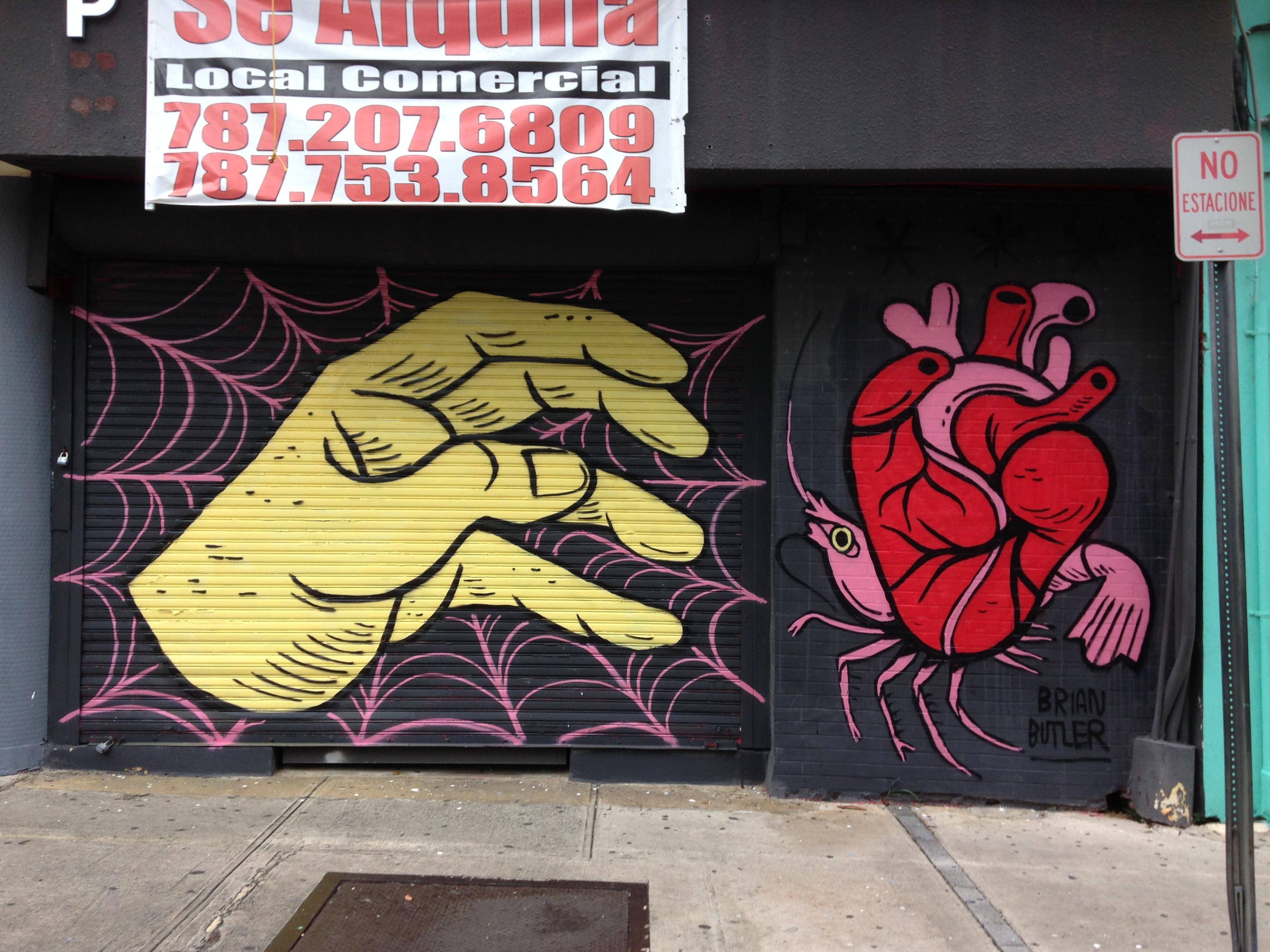 brian butler bb puerto rico mural
